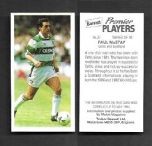 Glasgow Celtic Paul McStay 37